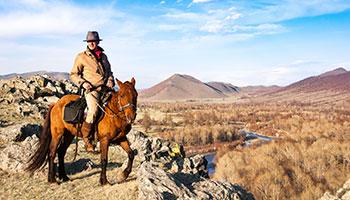 La Mongolie à cheval