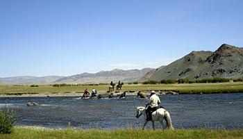 L'Altaï à cheval