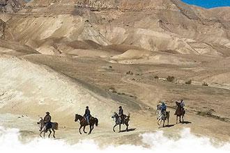 Voyages à cheval au Moyen Orient et Afrique