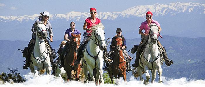 L'Espagne à cheval