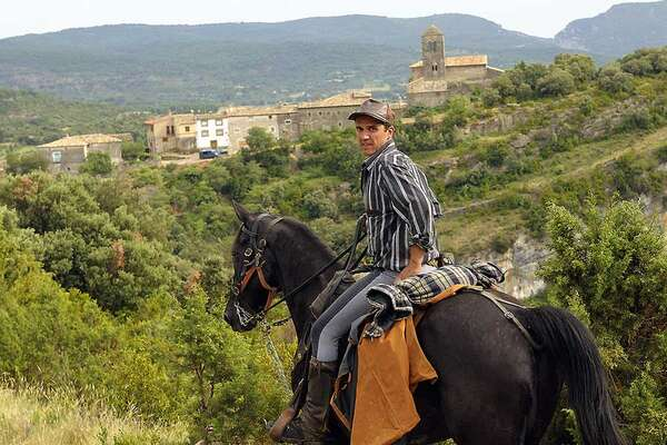 Sierra de Guara et Cheval