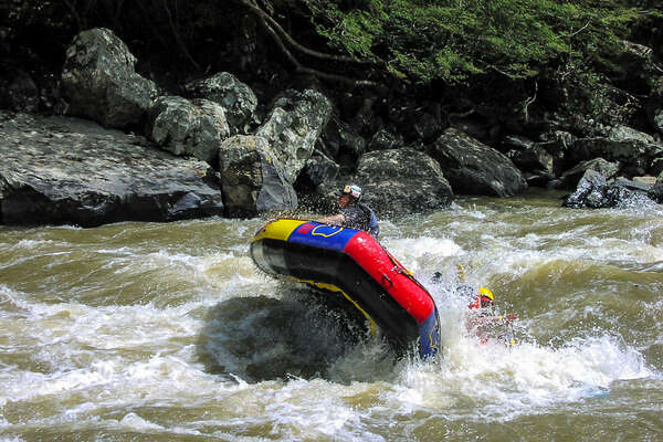 Descente en raft en Colombie