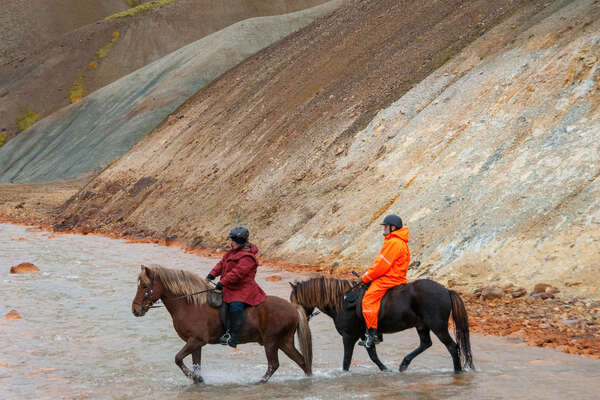 Kings Trail en Islande